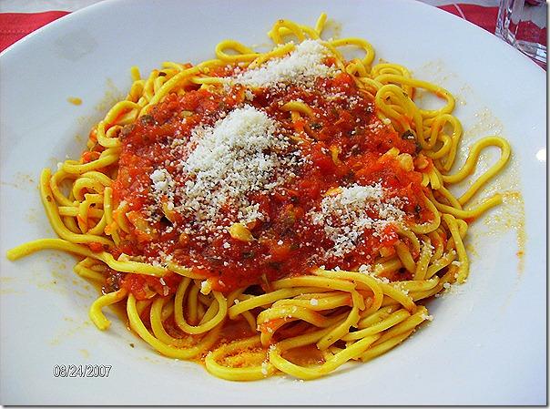 Sergio - spaghetti freschi alla carrettiera